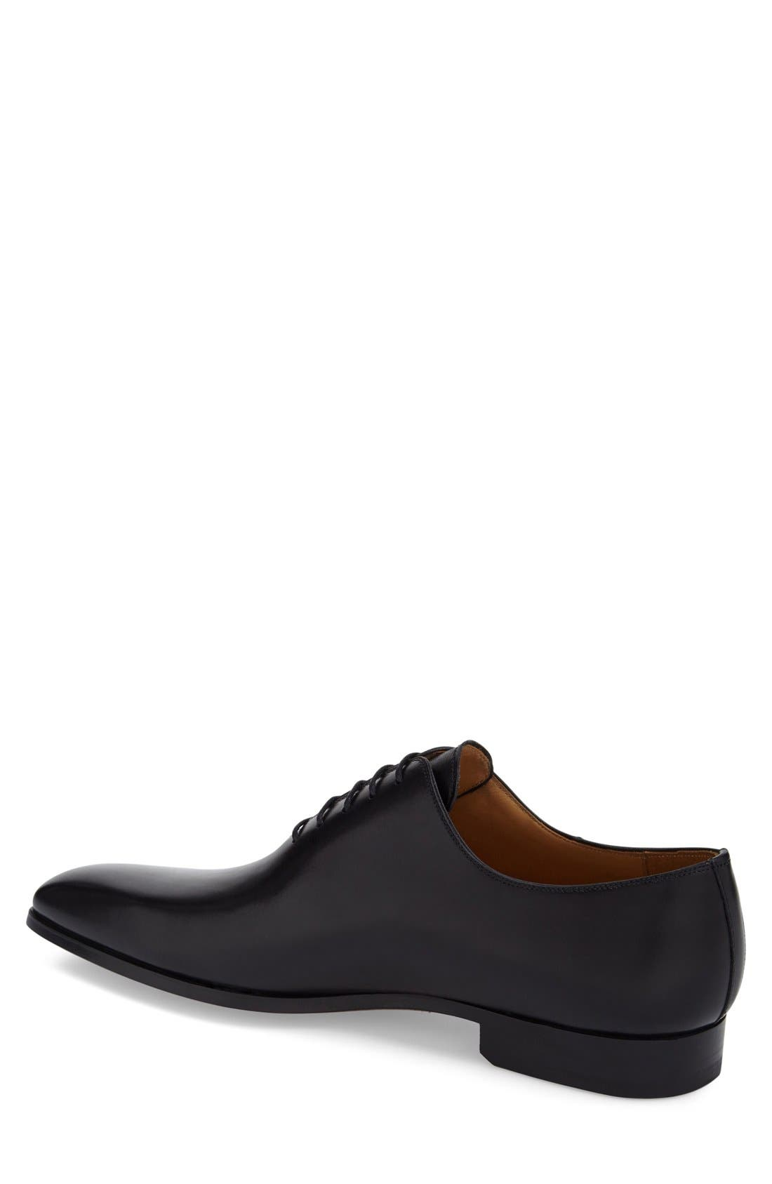 ,                             'Cruz' Plain Toe Oxford,                             Alternate thumbnail 4, color,                             BLACK