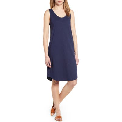 Caslon Shirttail Hem Tank Dress