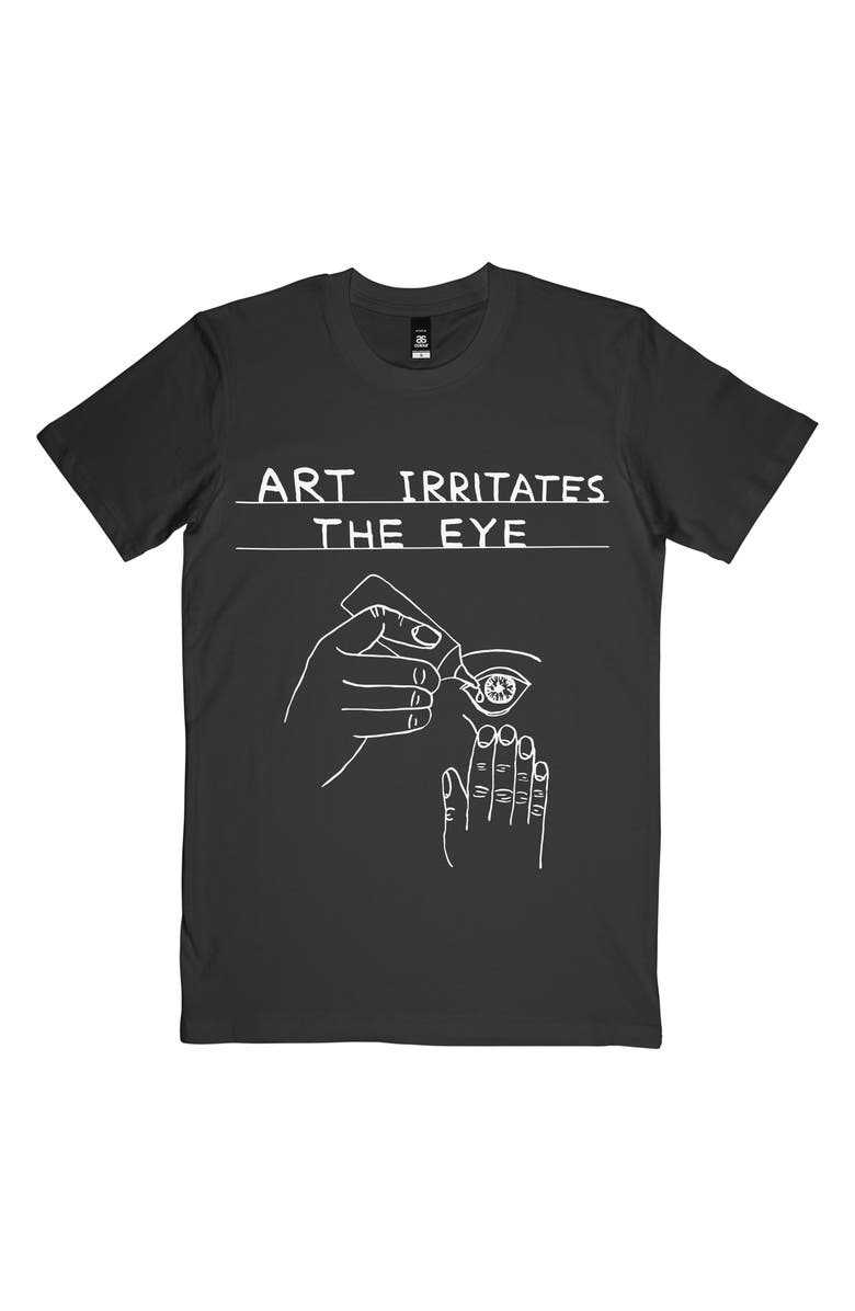 THIRD DRAWER DOWN Art Irritates the Eye Graphic Tee, Main, color, 001