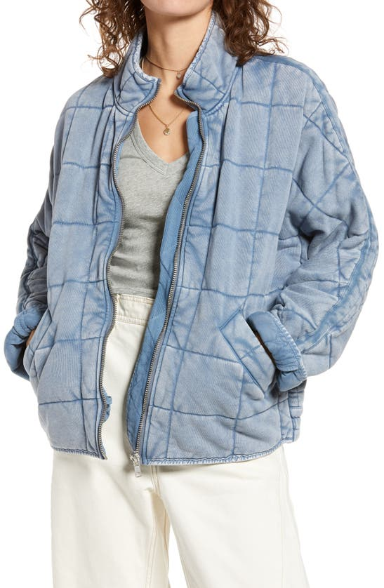 Free People Jackets DOLMAN SLEEVE QUILTED JACKET