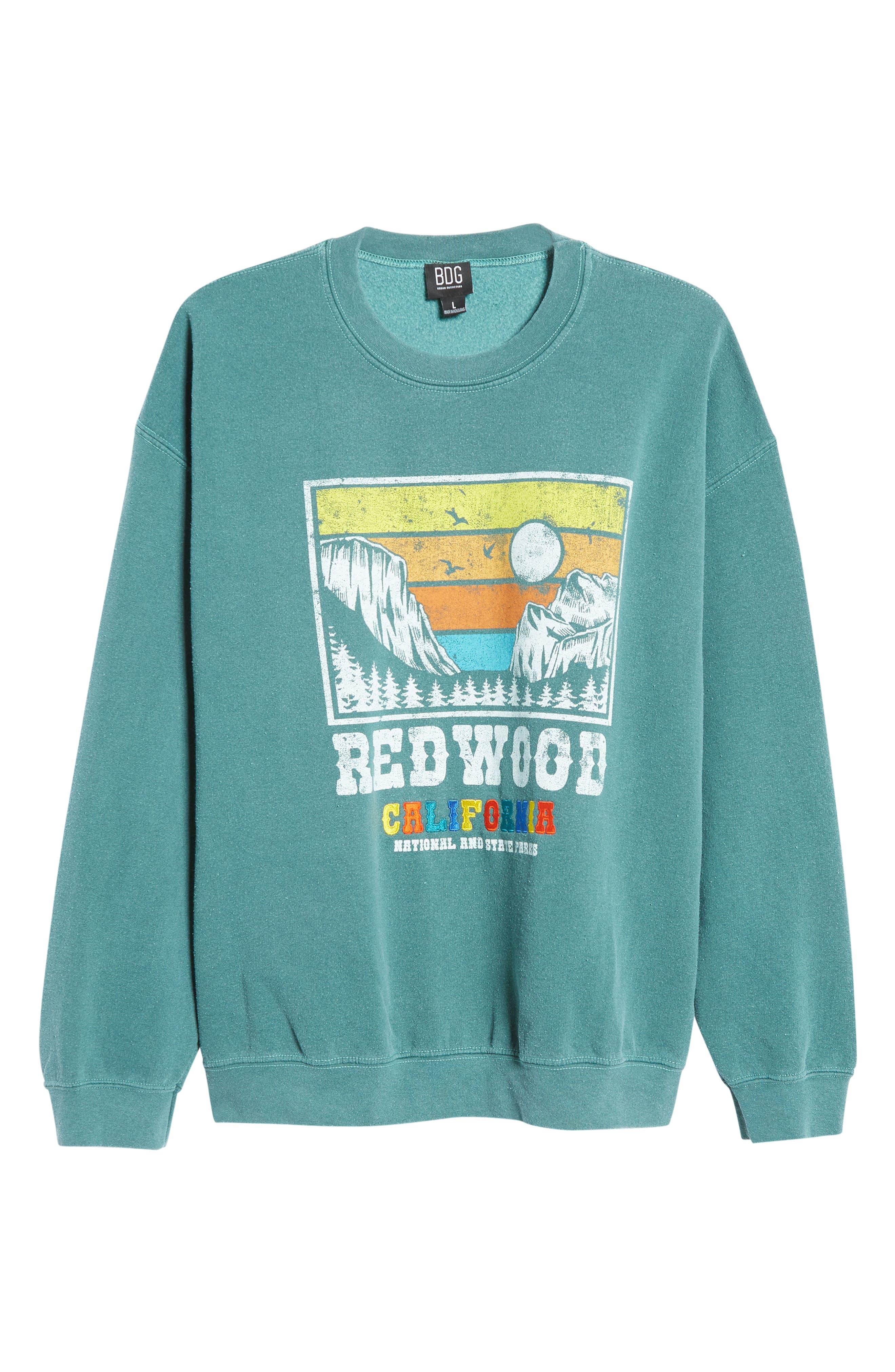 Women's Redwood Cali Crewneck Sweatshirt