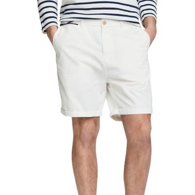Scotch & Soda Classic Chino Shorts, White