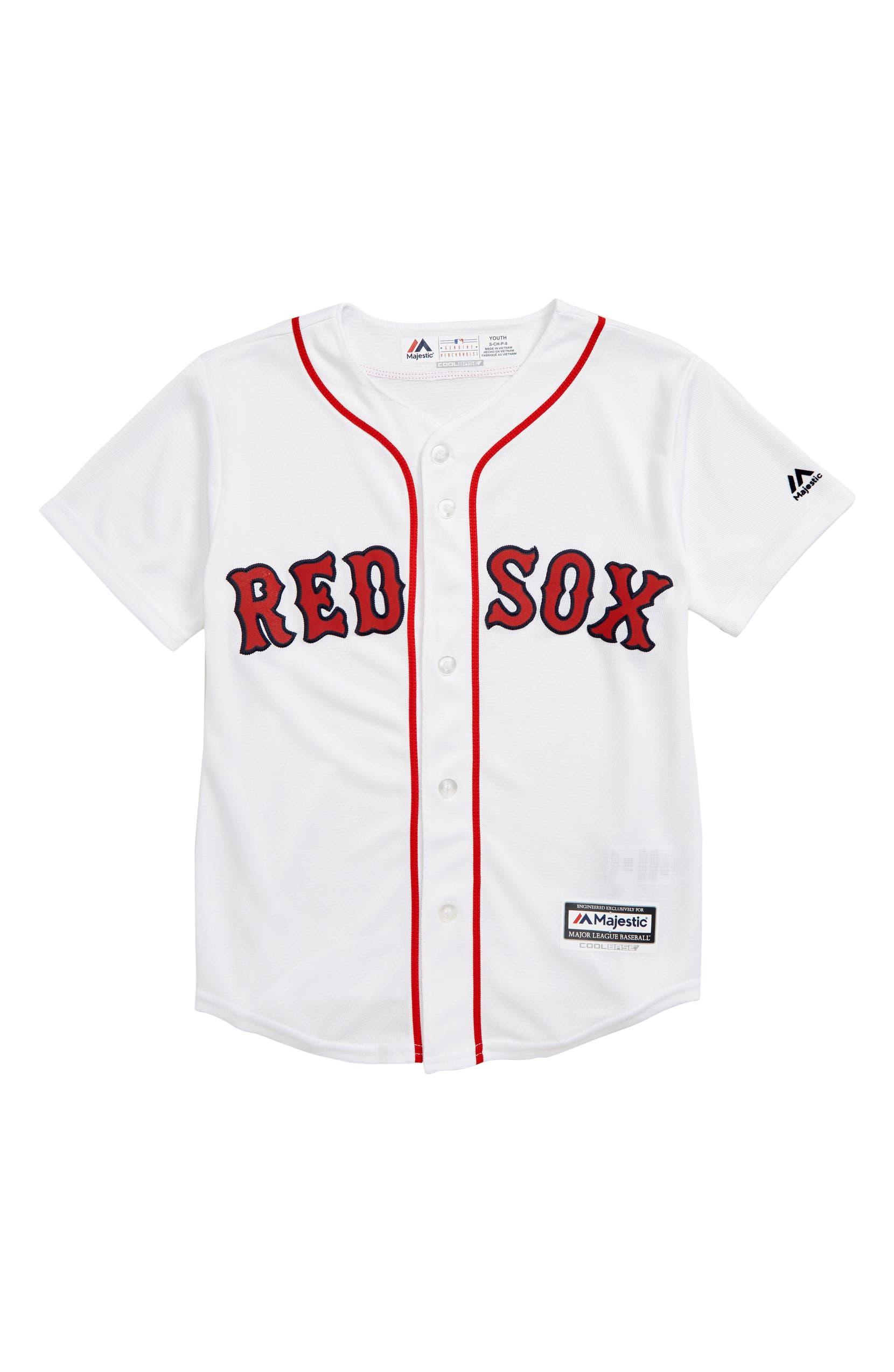 sale retailer 6632b b4360 Majestic MLB Boston Red Sox Replica Baseball Jersey (Big ...