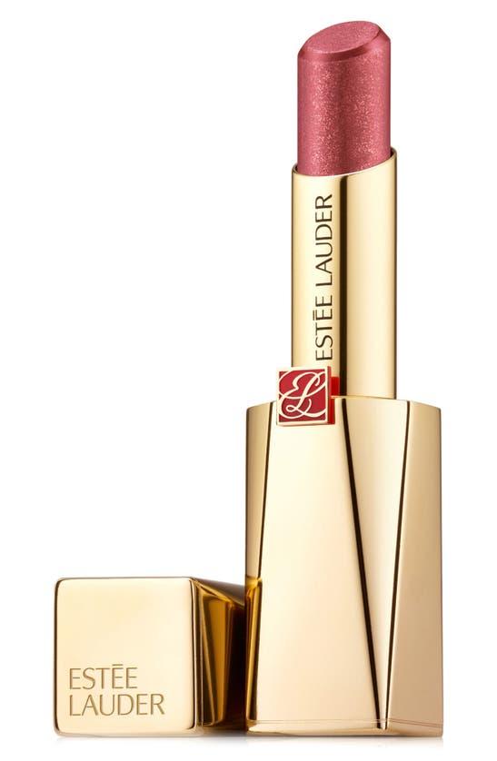 Estée Lauder Pure Color Desire Rouge Excess Creme Lipstick In Unspeakable-chrome