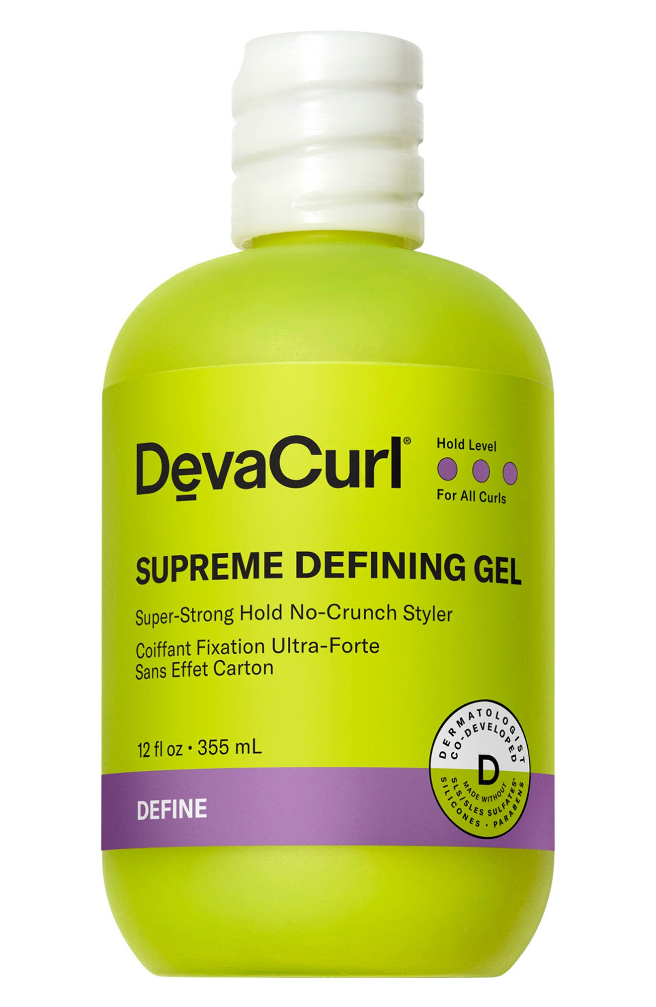 Supreme Defining Gel Super-Strong Hold No-Crunch Styler