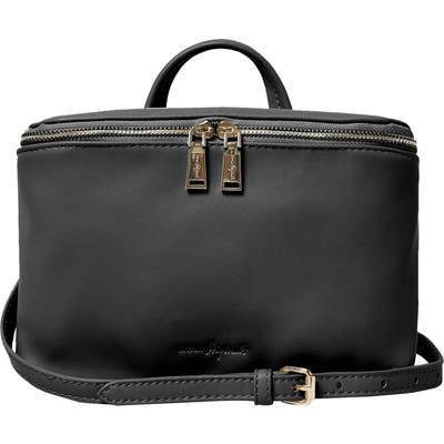 Urban Originals Shadow Vegan Leather Crossbody Satchel - Black