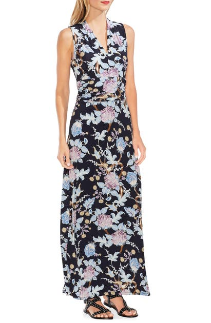 Vince Camuto Dresses POETIC BLOOMS SLEEVELESS MAXI DRESS
