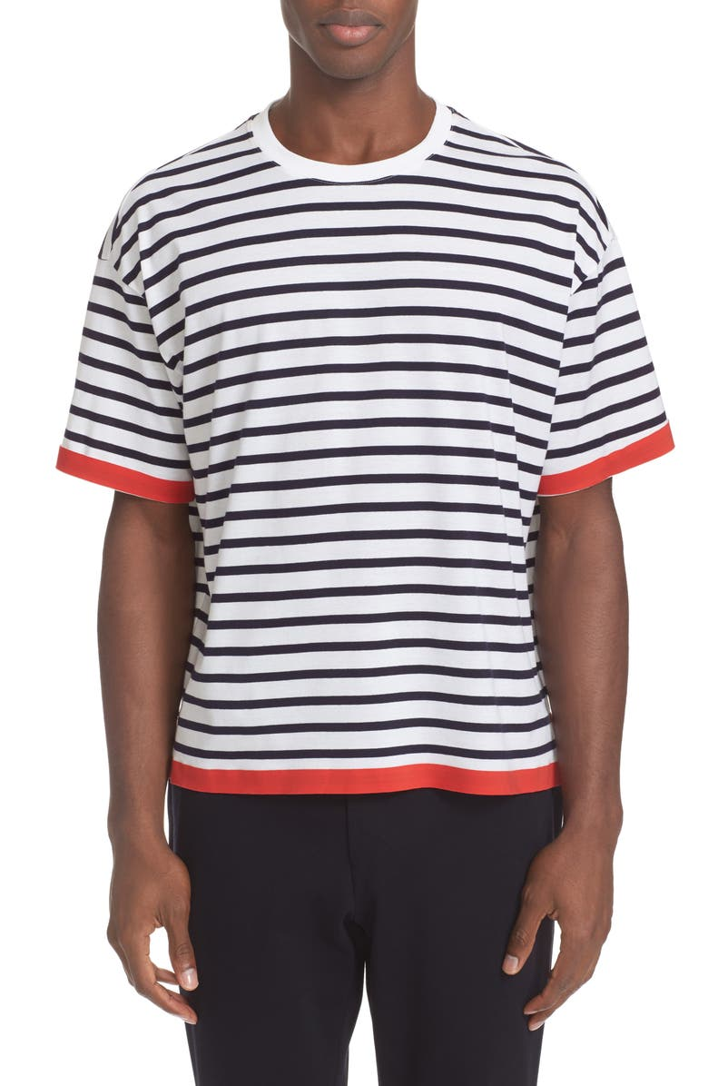 TOMORROWLAND Stripe T-Shirt, Main, color, 101