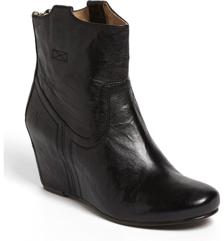 FRYE 'Carson' Wedge' Bootie, Main, color, 001
