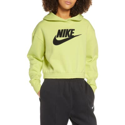 Nike Sportswear Logo Patch Cotton Blend Hoodie