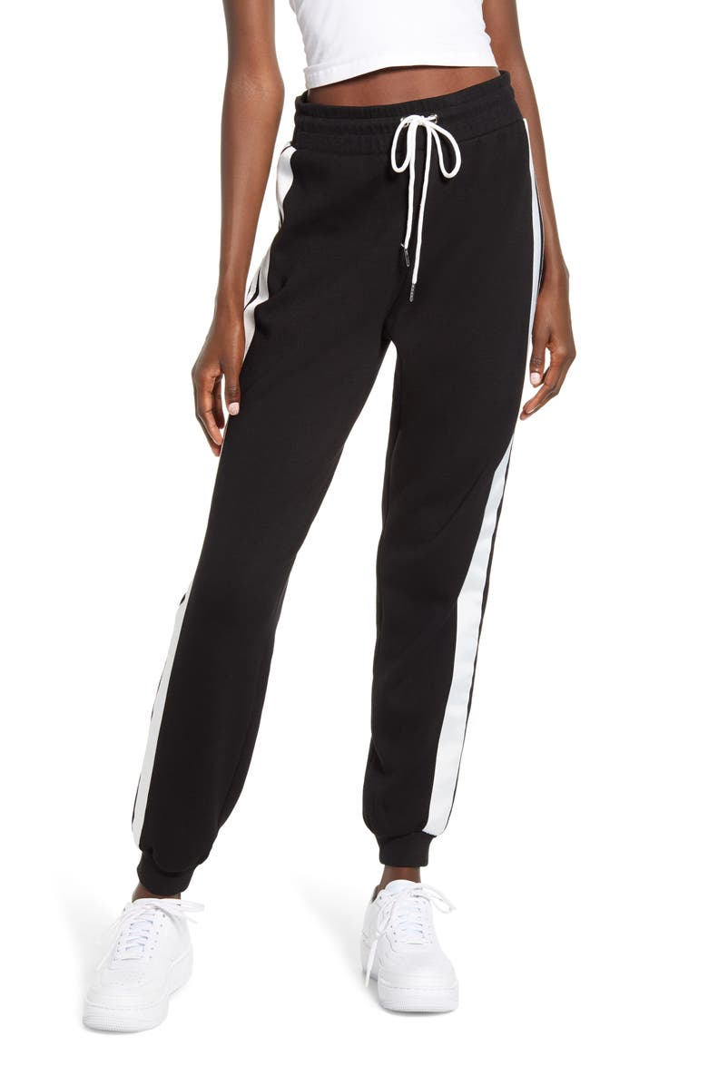 I.AM.GIA Striker Track Pants, Main, color, BLACK