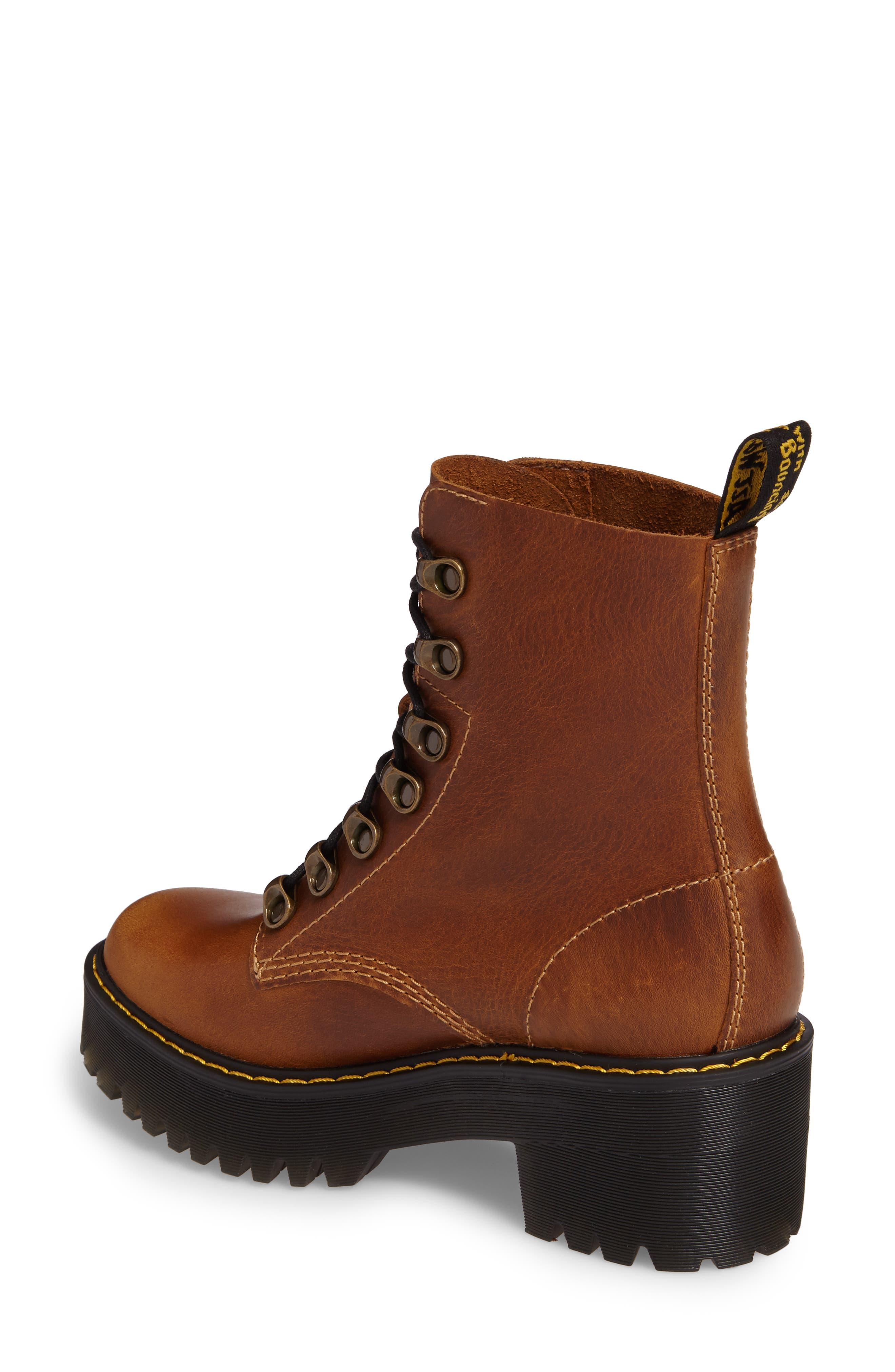 ,                             Leona Heeled Boot,                             Alternate thumbnail 14, color,                             243