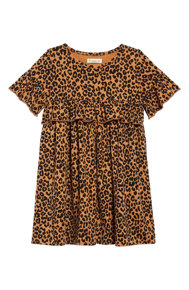 Tucker Tate Print Ruffle Dress Toddler Girls Little Girls Big Girls