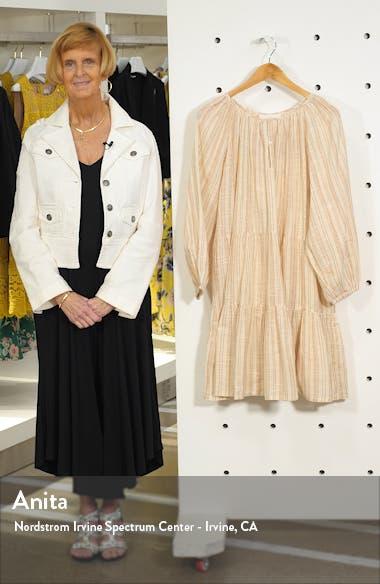 The Prairie Stripe Cotton Shift Dress, sales video thumbnail