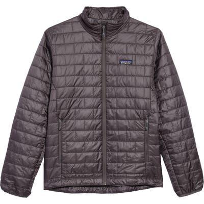 Patagonia Nano Puff Water Resistant Jacket, Grey