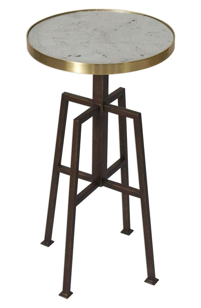 UTTERMOST Gisele Accent Table, Main, color, BRASS/ BRONZE