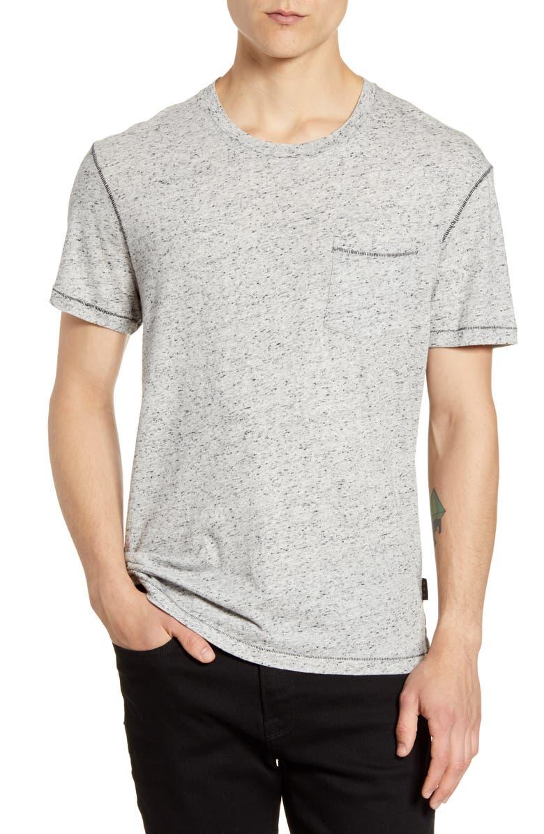 JOHN VARVATOS STAR USA Asheville Cotton Blend Crewneck T-Shirt, Main, color, 055