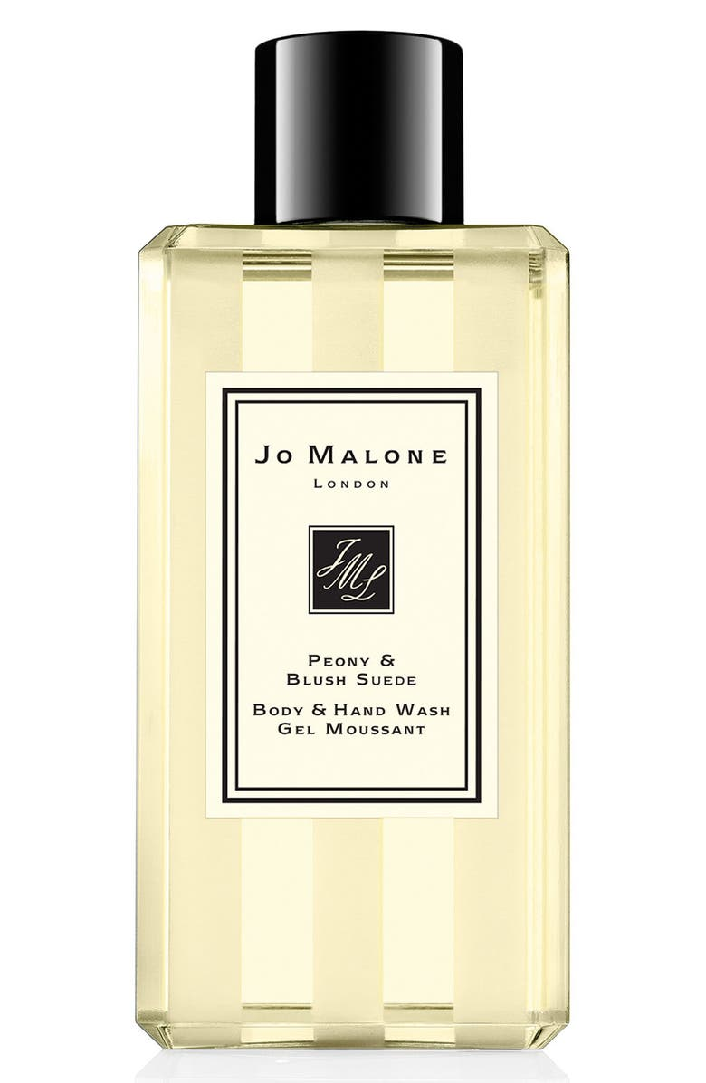 JO MALONE LONDON<SUP>™</SUP> Peony & Blush Suede Body & Hand Wash, Main, color, NO COLOR