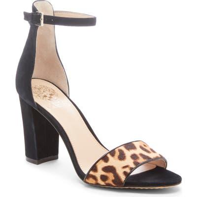 Vince Camuto Corlina Ankle Strap Sandal- Black (Nordstrom Exclusive)