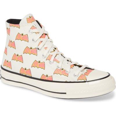 Converse Chuck 70 Hi X Batman Sneaker, White