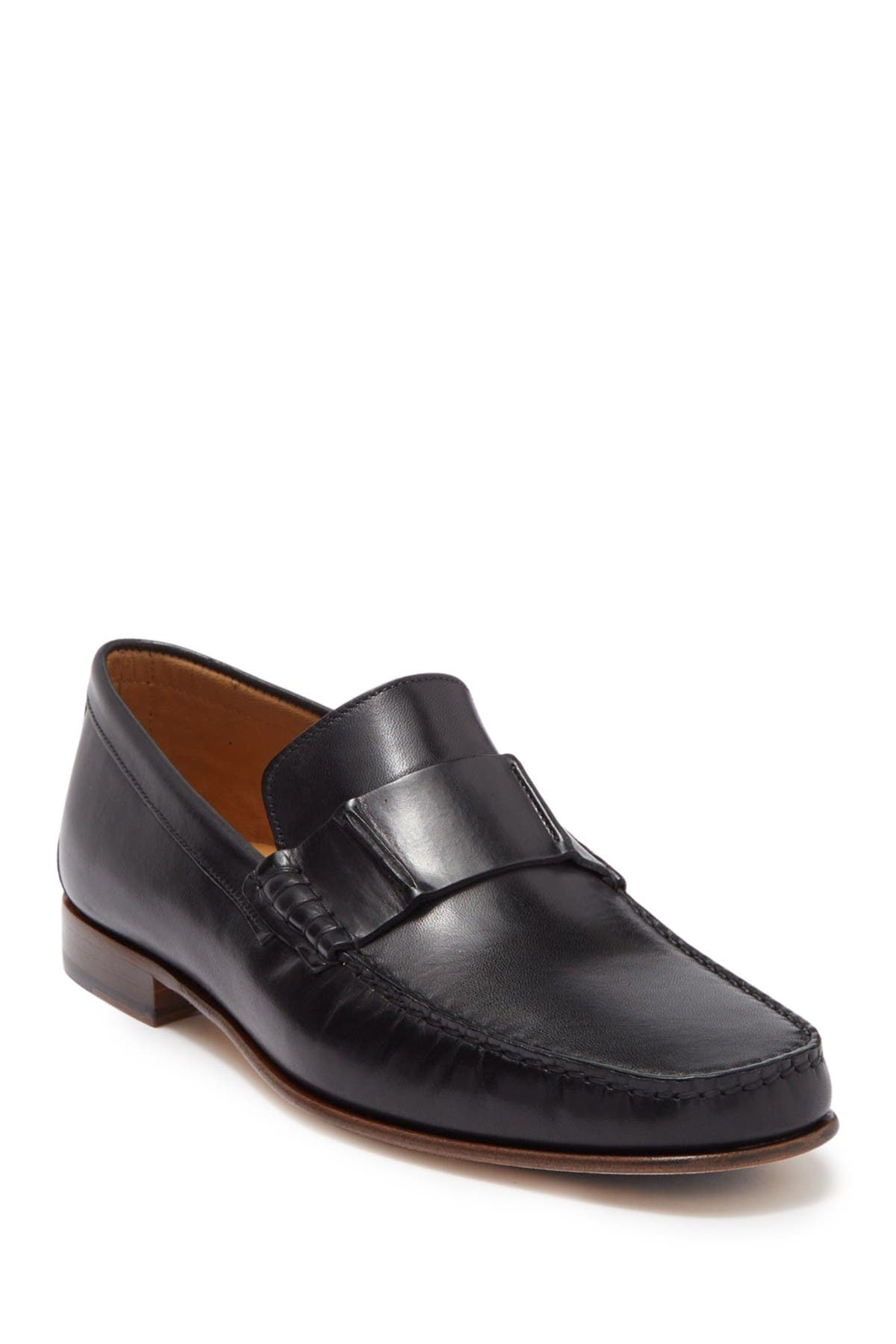 Image of Donald Pliner Dillan Tanned Leather Loafer