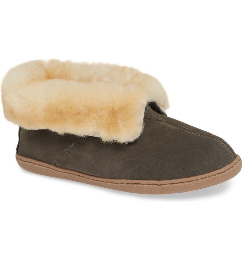 73fb2a30a Minnetonka Sheepskin Slipper Bootie (Women) | Nordstrom