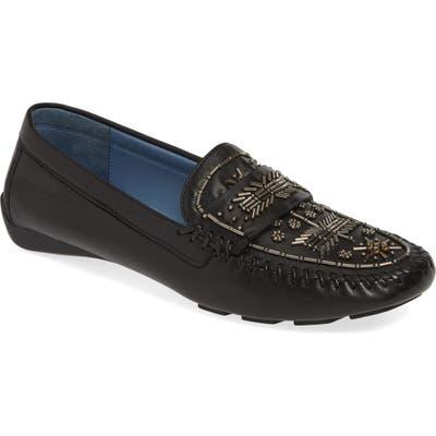 Robert Zur Majorca Embellished Loafer, Black