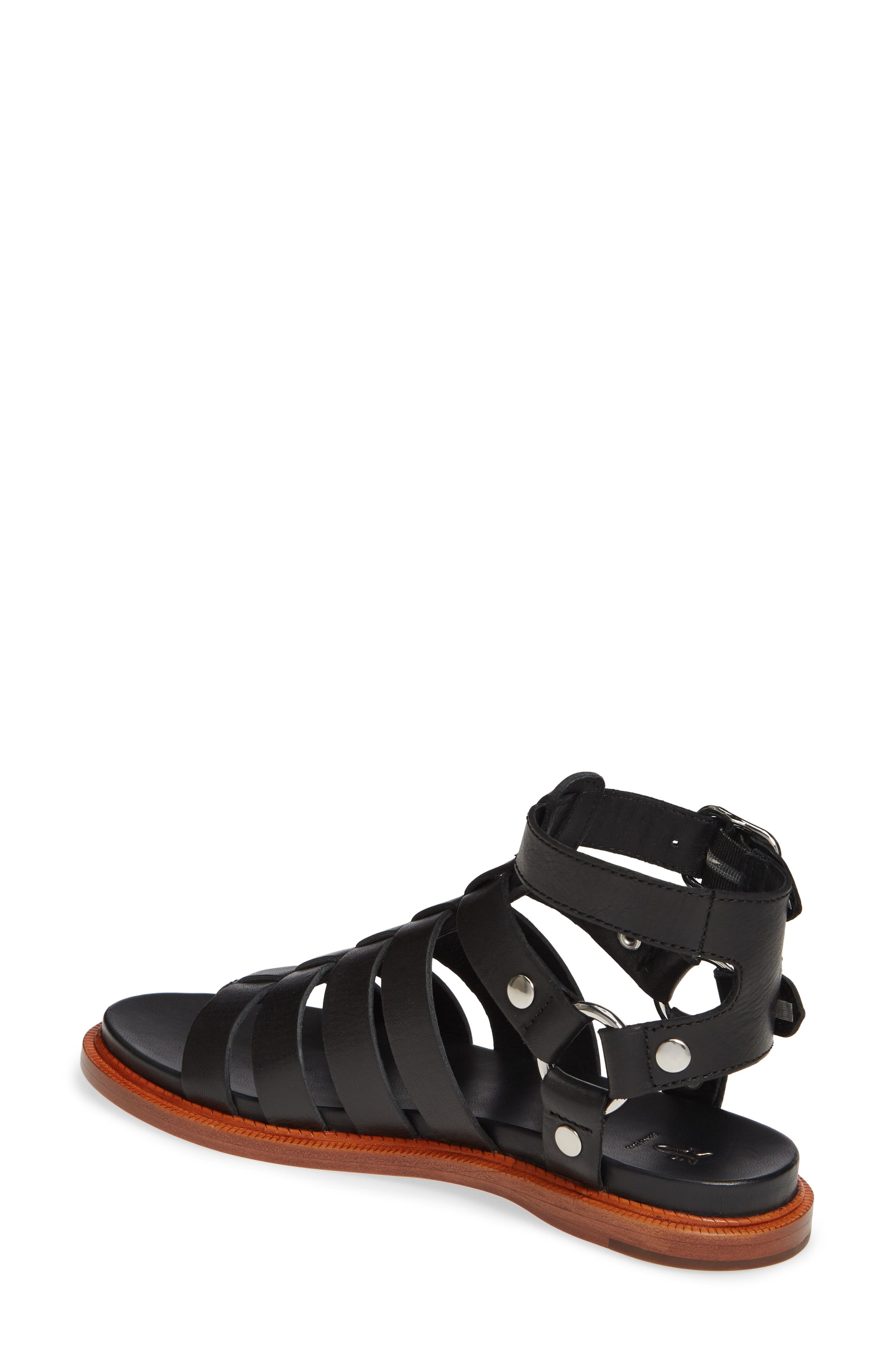 ,                             Andora Gladiator Sandal,                             Alternate thumbnail 2, color,                             BLACK