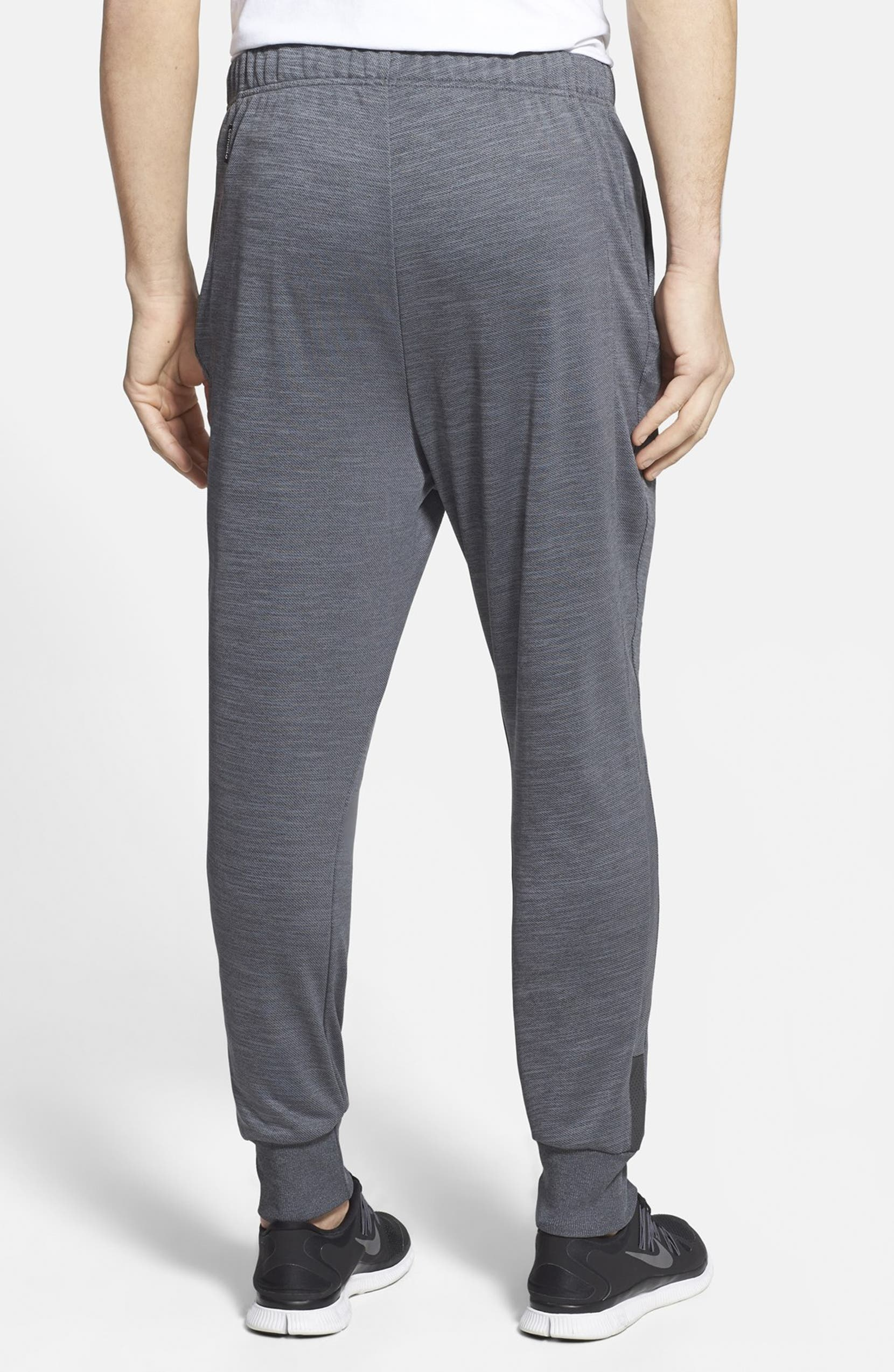 2c14ee7d394468 adidas 'Beyond the Run' Slim Fit CLIMALITE® French Terry Jogger Pants |  Nordstrom
