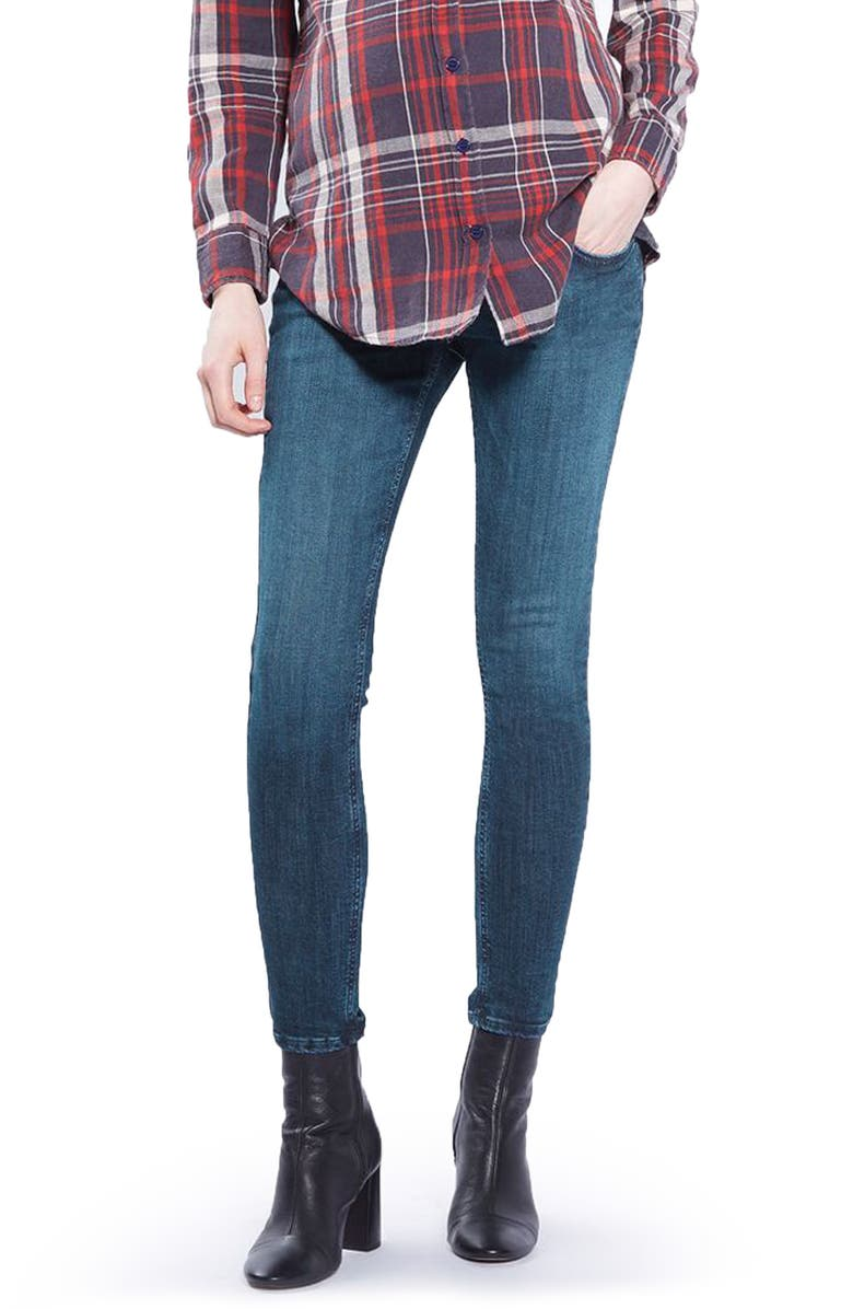 TOPSHOP Jamie Maternity Skinny Jeans, Main, color, 400