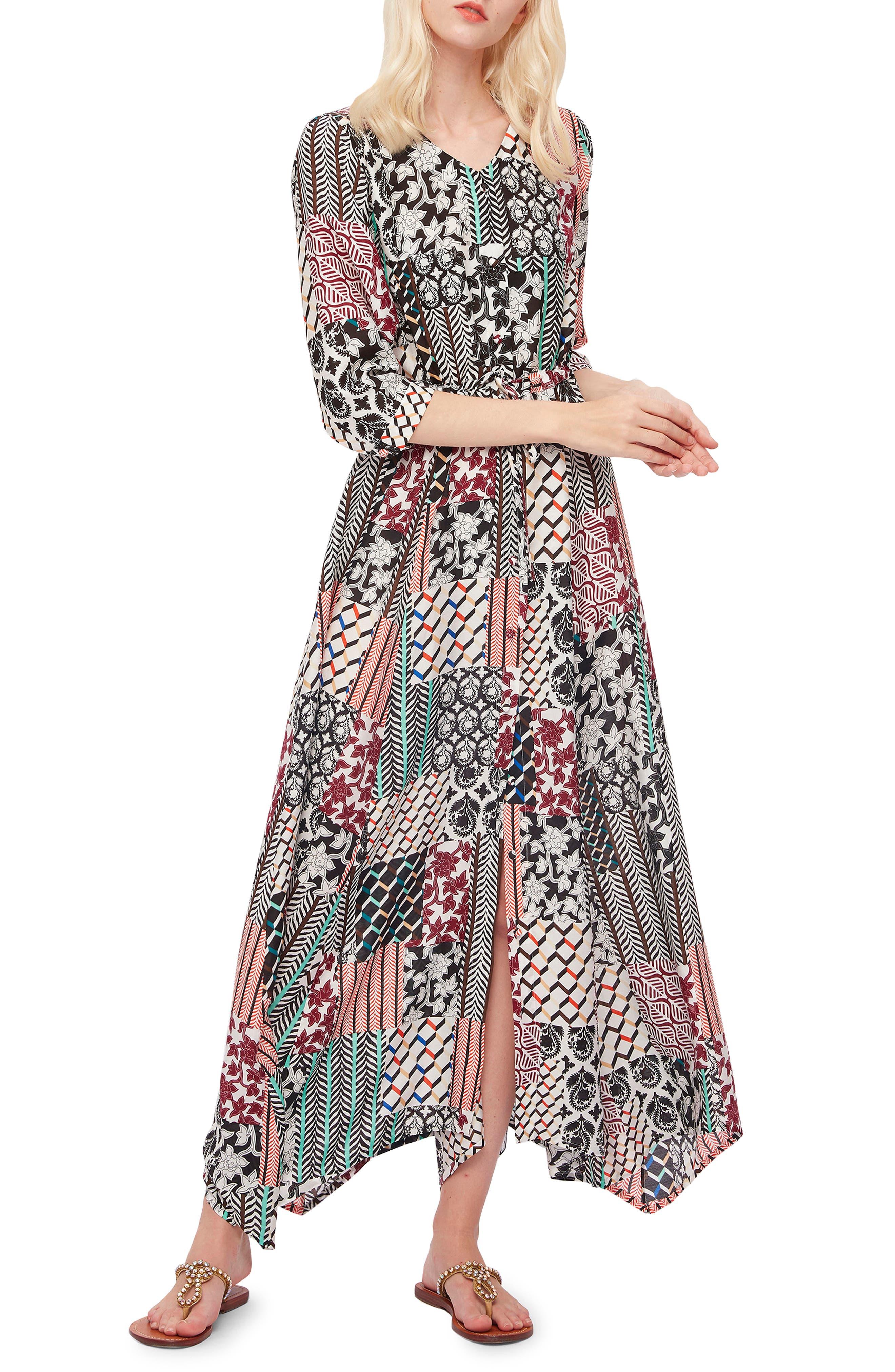 Lily Woven Maxi Dress
