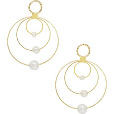 Ettika Concentric Earrings