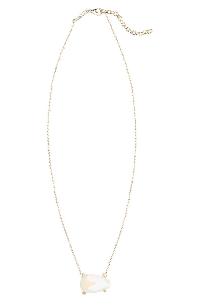 KENDRA SCOTT 'Isla' Pendant Necklace, Main, color, 100