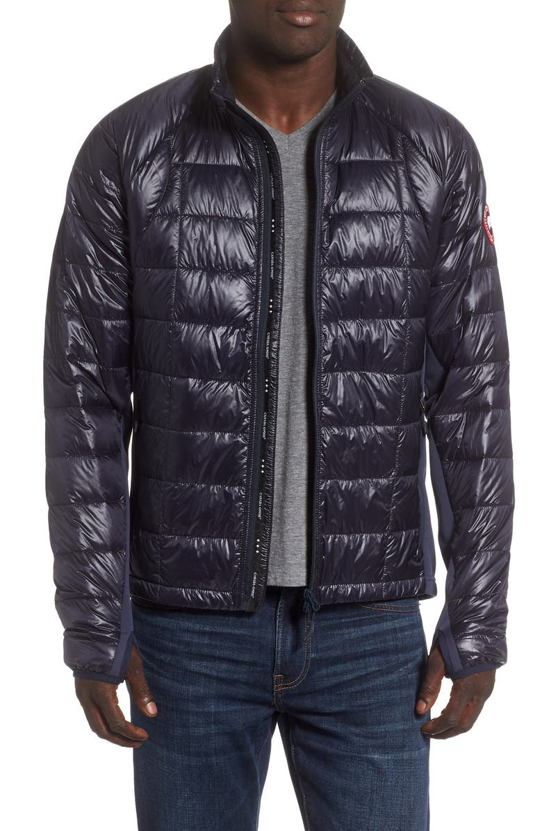 CANADA GOOSE 'Hybridge<sup>™</sup> Lite' Slim Fit Packable Jacket, Main, color, NAVY