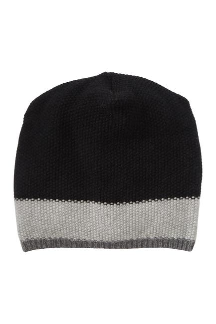 Image of Portolano Slouchy Fancy Stitch Cashmere Hat
