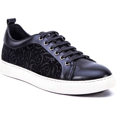 Robert Graham Creed Sneaker, Black