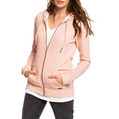 Roxy Trippin Hoodie, Coral