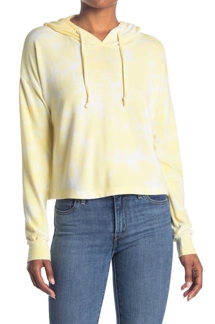 Image of Sweet Romeo Marbled Tie Dye Pullover Hoodie