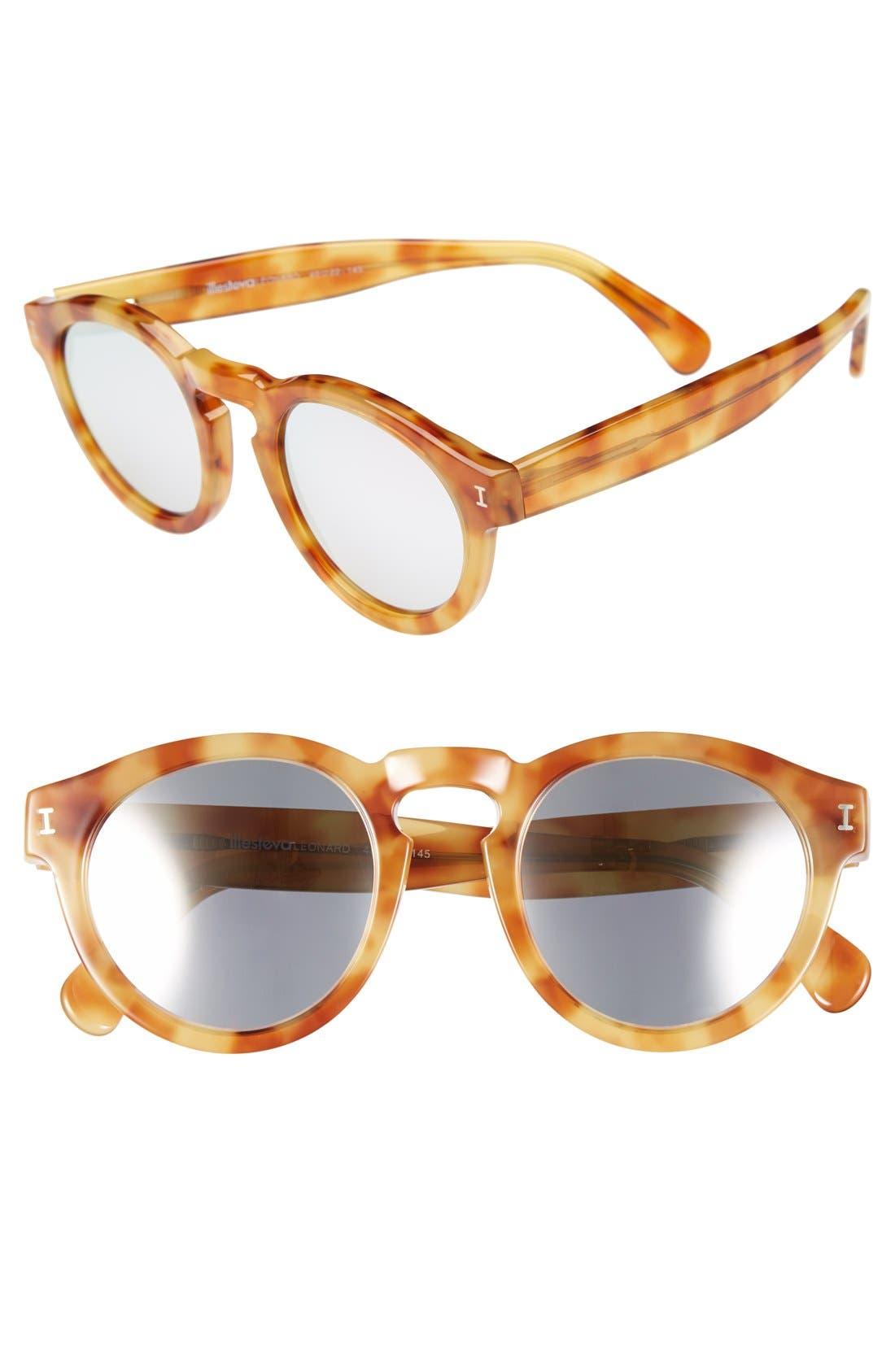 ,                             'Leonard' 47mm Sunglasses,                             Main thumbnail 134, color,                             800