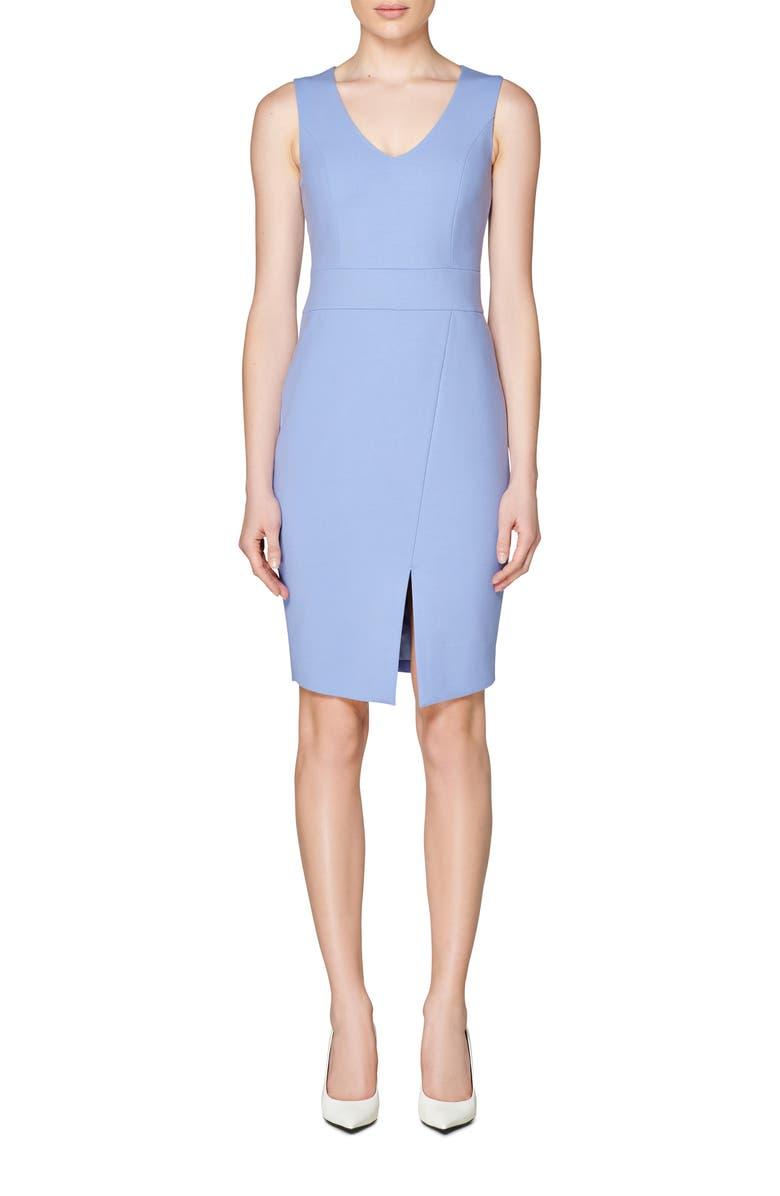 SUISTUDIO Ameli Sheath Dress, Main, color, LAVENDER