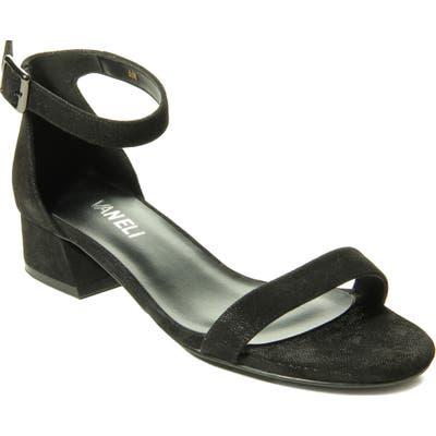 Vaneli Hadaya Ankle Strap Sandal, Black
