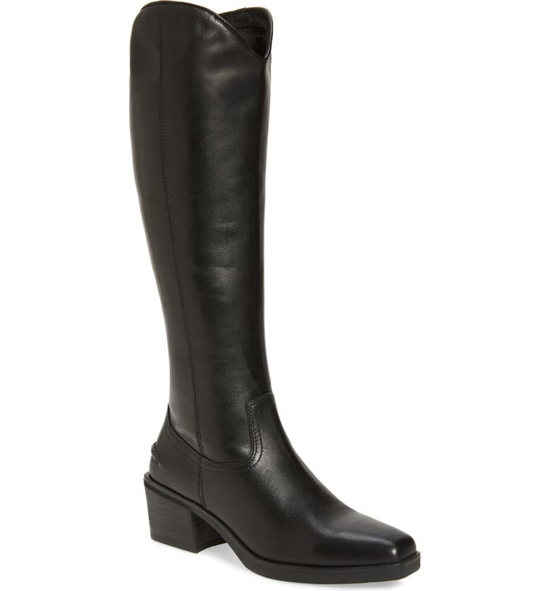 VAGABOND SHOEMAKERS Knee High Boot, Main, color, BLACK LEATHER