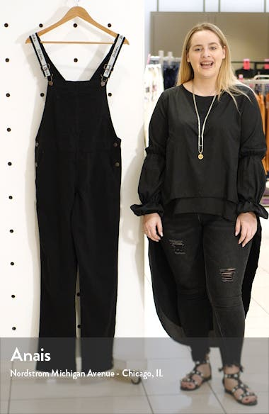 Logo Strap Twill Overalls, sales video thumbnail