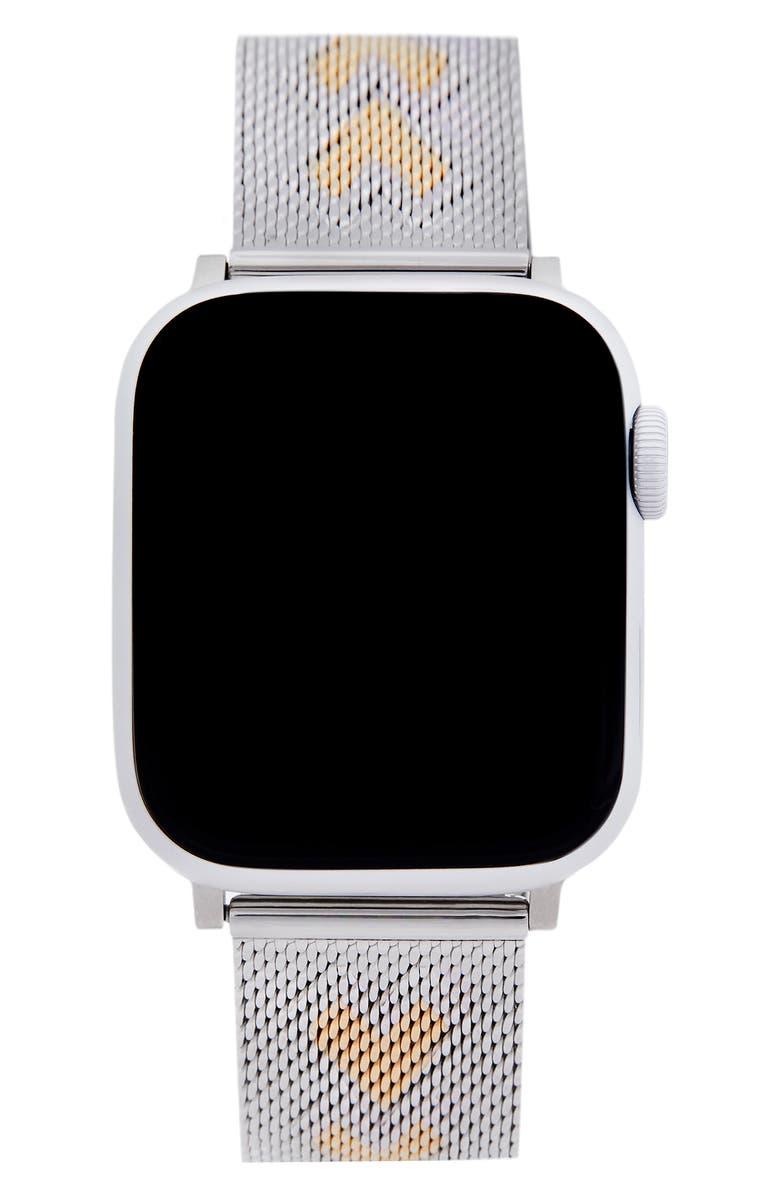 REBECCA MINKOFF Heart Apple Watch<sup>®</sup> Bracelet, Main, color, 040
