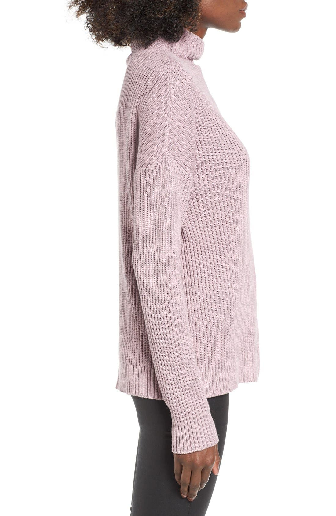 ,                             Mock Neck Sweater,                             Alternate thumbnail 28, color,                             530