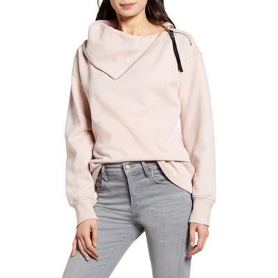 Allsaints Bella Zip Sweatshirt, Beige