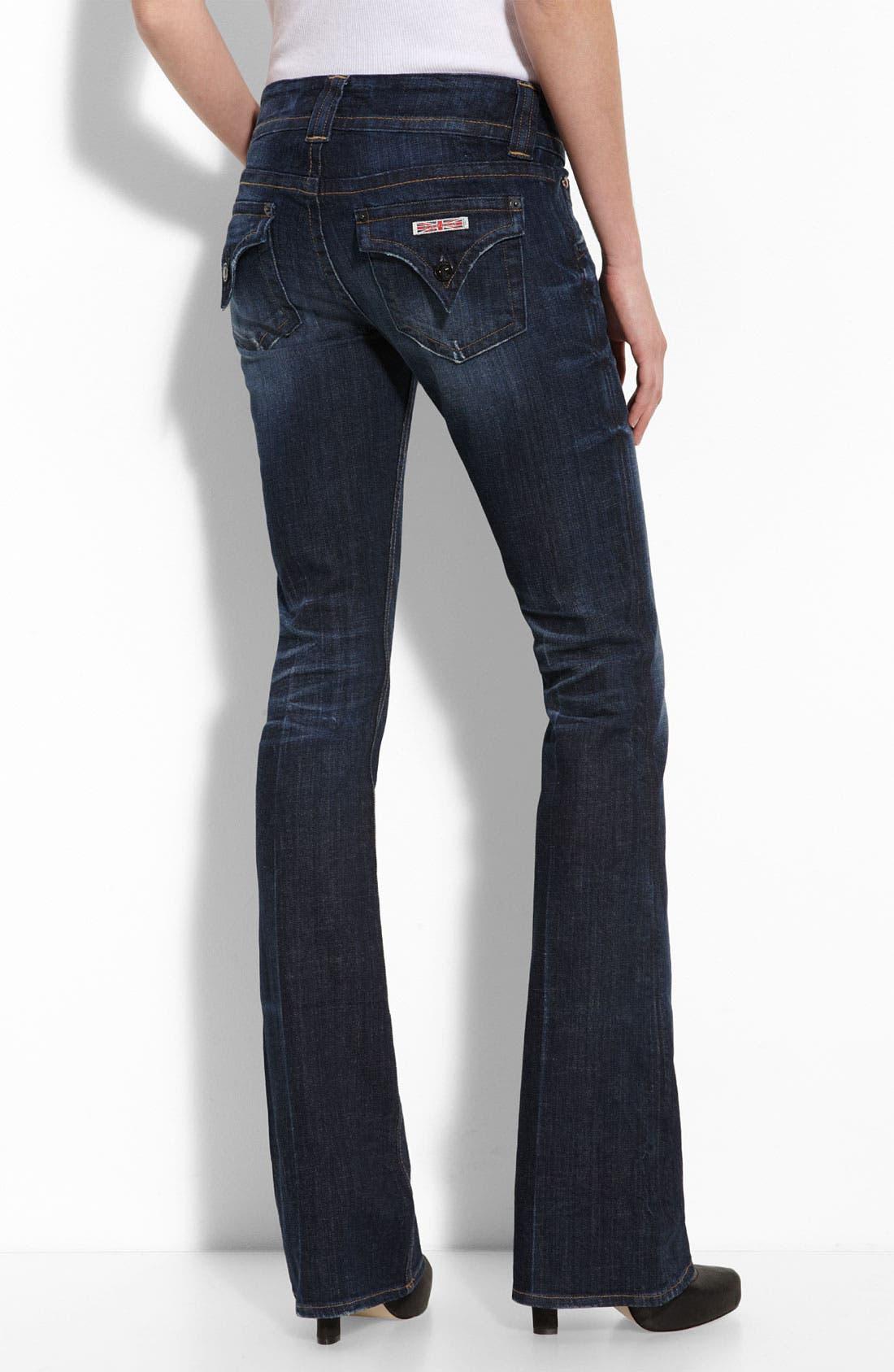 ,                             Signature Flap Pocket Bootcut Jeans,                             Alternate thumbnail 53, color,                             460