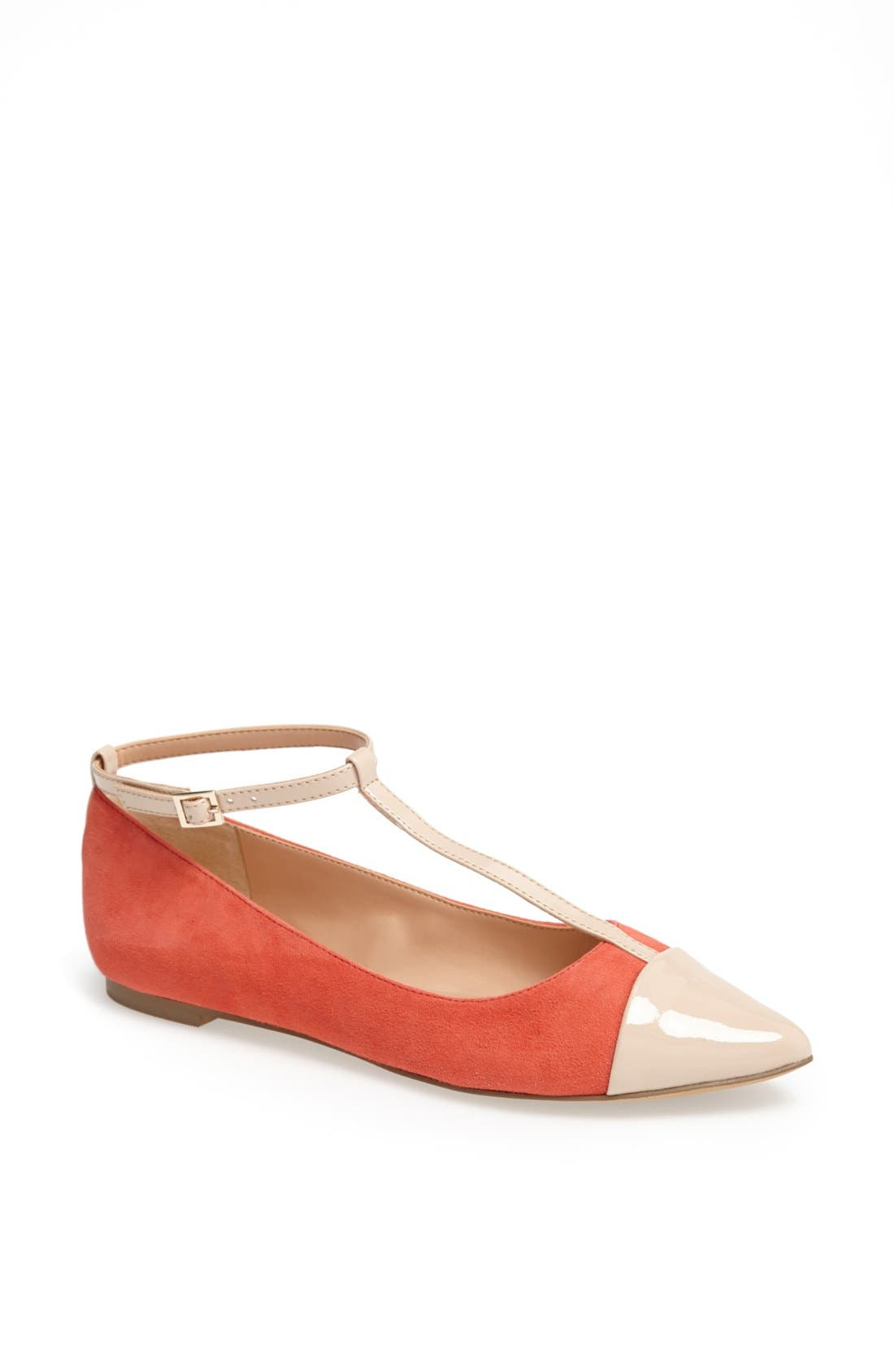 ,                             Julianne Hough for Sole Society 'Addy' Flat,                             Main thumbnail 45, color,                             840