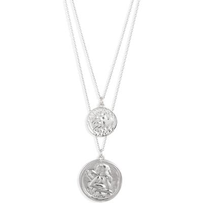 Sterling Forever Layered Pendant Necklace