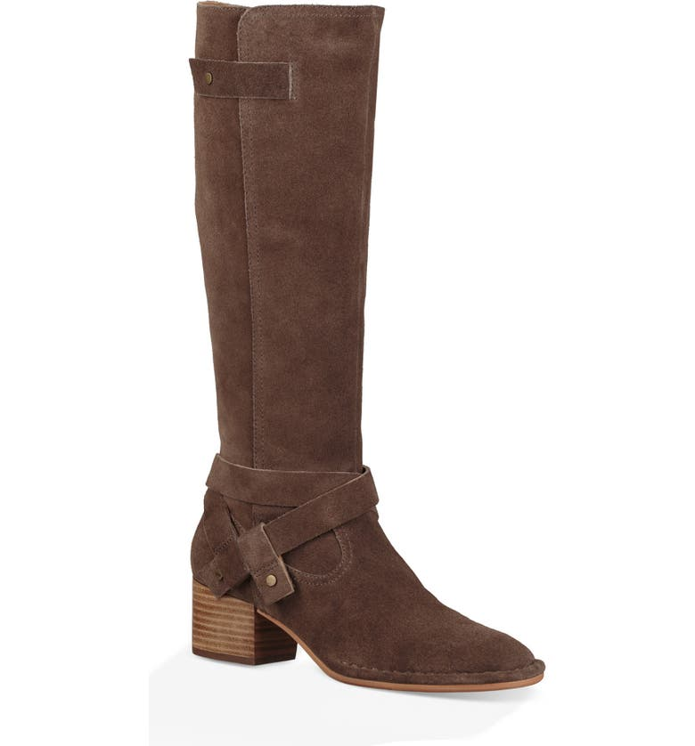UGG<SUP>®</SUP> Bandara Knee High Boot, Main, color, MYSTERIOUS LEATHER